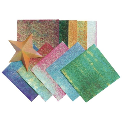 Folia Iridescent Origami Paper, 5-1/2 x 5-1/2 Inches, Assorted Colors, 150 Sheets - image 1 of 1