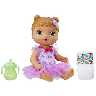 Baby Alive Dance Class Baby - Brown
