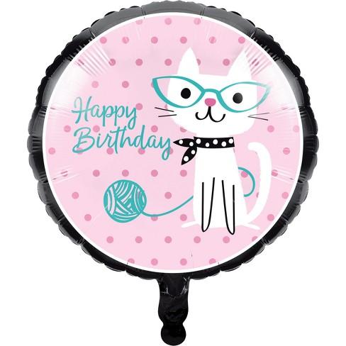Creative Converting Cat Party Mylar Balloon Target