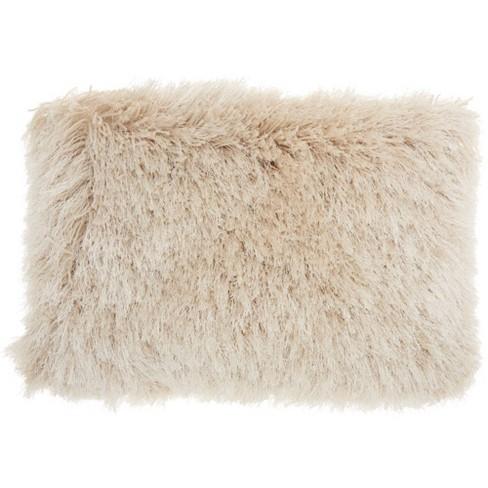 Yarn Shimmer Shag Throw Pillow - Mina Victory - image 1 of 2