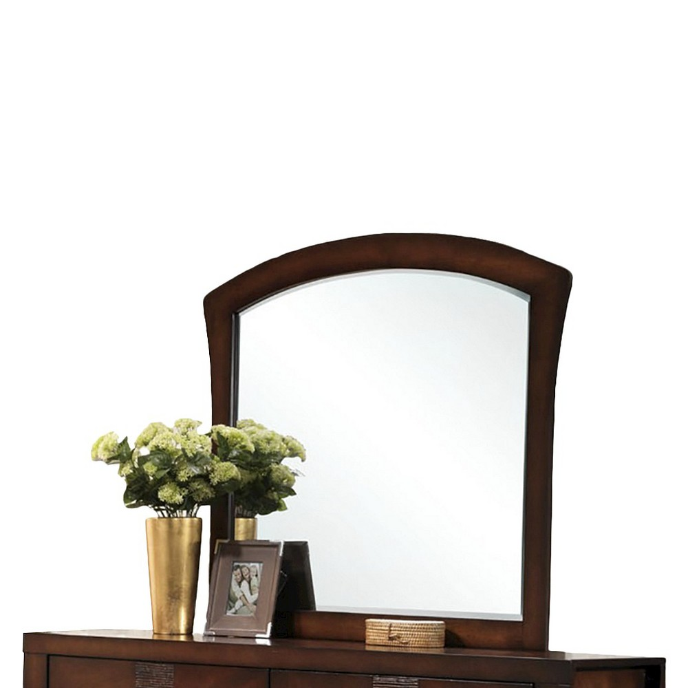 Image of Aria Mirror Espresso - Picket House Furnishings, Brown