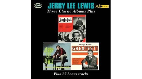 Jerry Lee Lewis - Jerry Lee Lewis/And His Pumping Piano (CD) - image 1 of 1