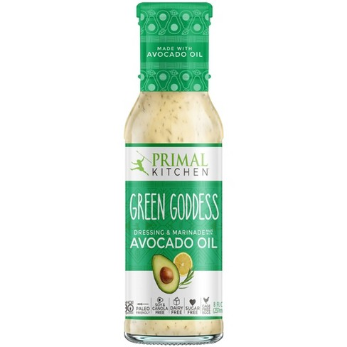 Primal Kitchen Dairy-Free Green Goddess Dressing with Avocado Oil  - 8oz - image 1 of 4