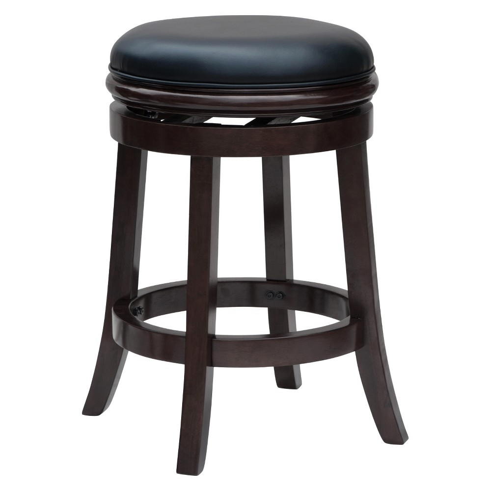 "Image of ""24"""" Backless Counter Stool Cappuccino - Boraam"""