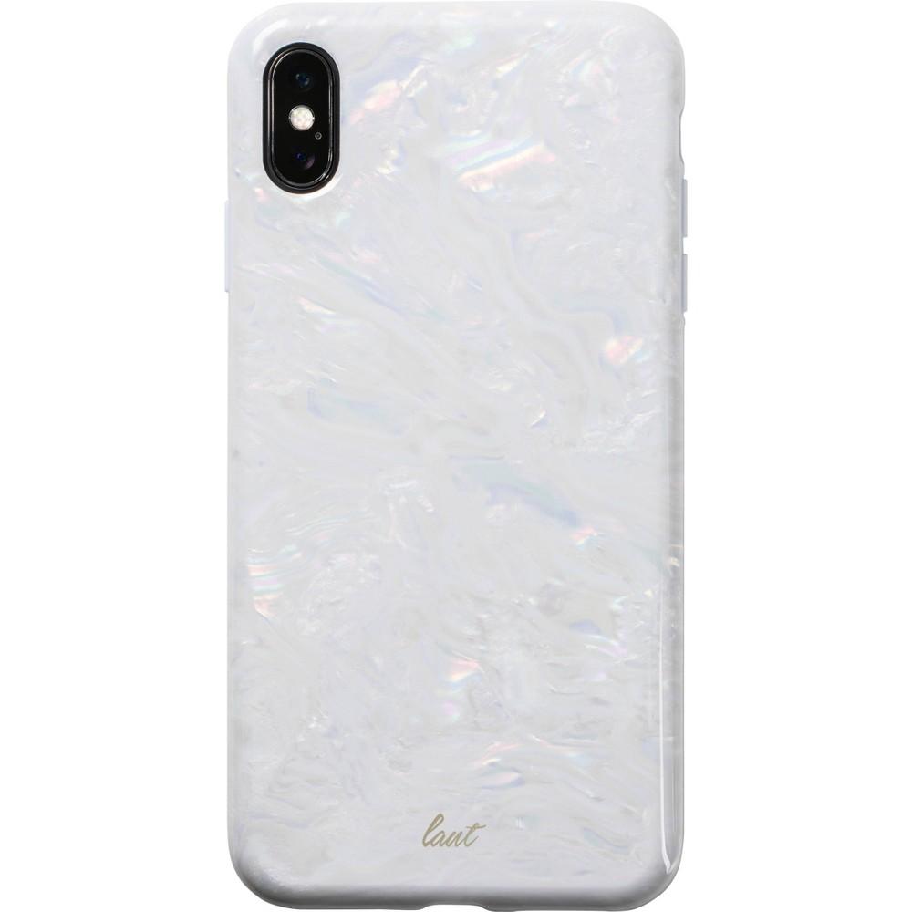 LAUT Apple iPhone XS Max Pearl Case - White