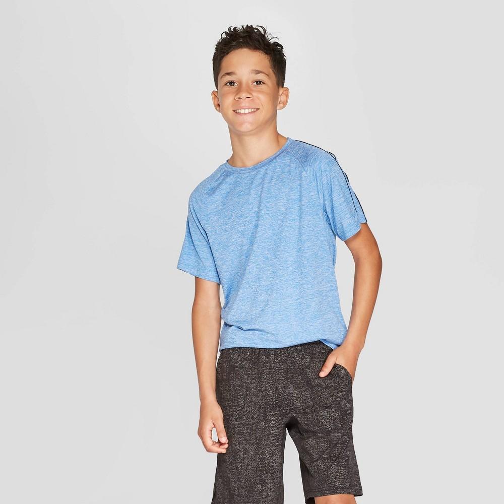 Image of Boys' Super Soft Tech T-Shirt - C9 Champion Blue L, Boy's, Size: Large
