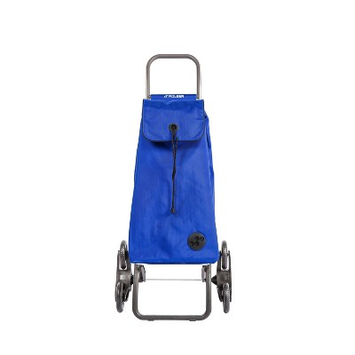 Rolser Foldable Stair Climber Cart Blue