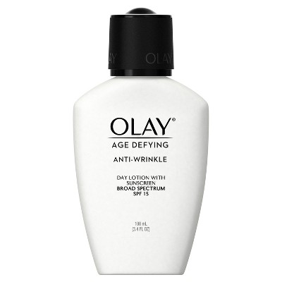 Olay Age Defying Anti-Wrinkle Day Lotion With SPF 15 - 3.4 oz