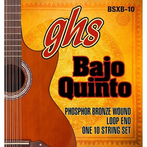 GHS Bajo Quinto 10-String Phosphor Bronze Acoustic Guitar Strings - image 1 of 1