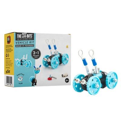 Fat Brain Toys OffBits - Blue Vehicle FA156-1