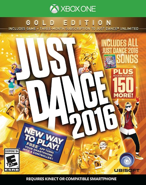 Just Dance 2016 Gold Edition Xbox One - image 1 of 7