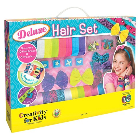 Creativity For Kids Hair And Accessory Craft Kit Target