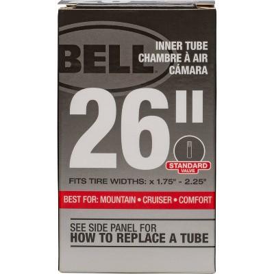"""Bell 26"""" Standard Bike Inner Tube - Black"""