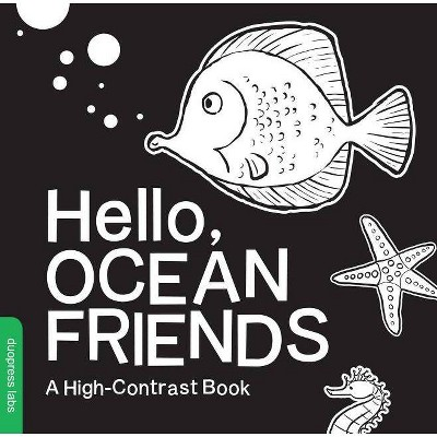 Hello, Ocean Friends - (Board_book)