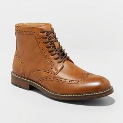 547ab0d0dda Men's Vance Co. Landon Round Toe High Top Dress Boots : Target