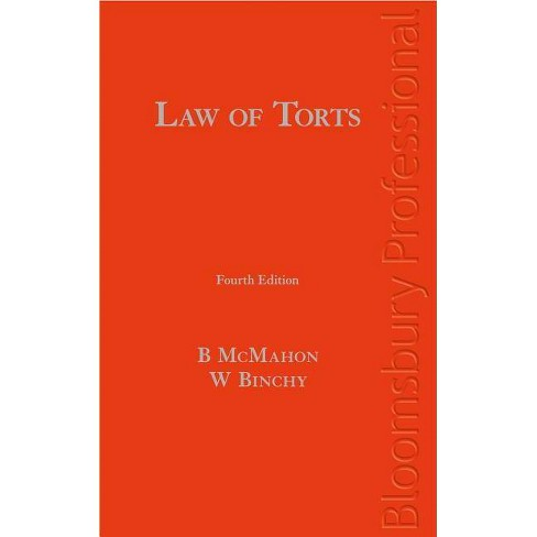 Law of Torts - 4 Edition by  Bryan M E McMahon & William Binchy (Hardcover) - image 1 of 1