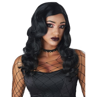 California Costumes Sultry Siren Adult Wig (Black)