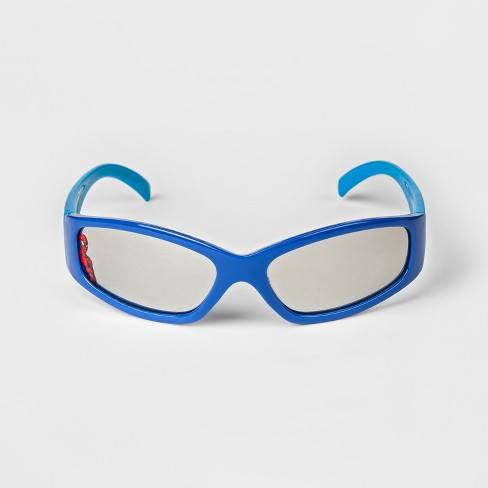Boys' Spider-Man Sunglasses With Case - Blue : Target - photo#17