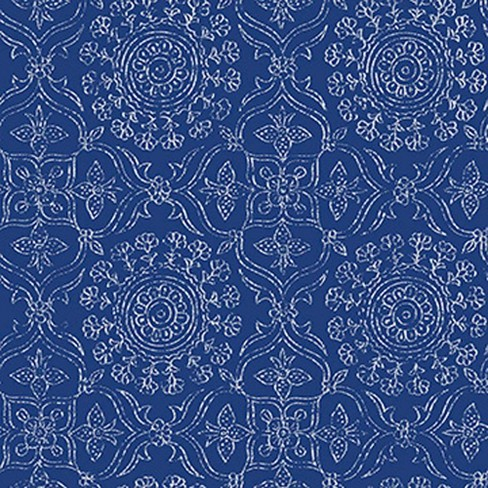 NuWallpaper Brewster Byzantine Peel & Stick Wallpaper Blue - image 1 of 4