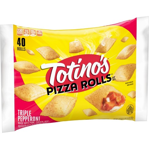 Totino's Triple Pepperoni Pizza Rolls 19.8 oz 40 ct - image 1 of 3