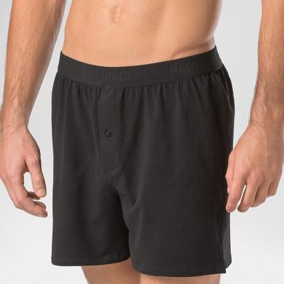 7e1009dae666 Mens PACT Organic Boxer Shorts Black M – Underwear – Target ...