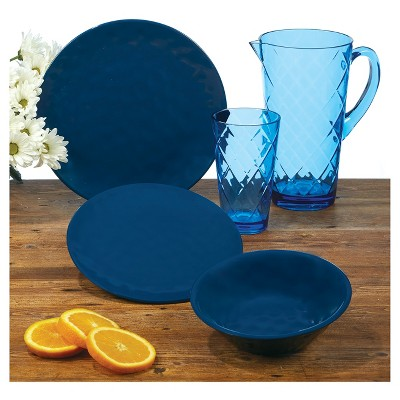 Certified International® Solid Color Melamine Dinnerware Collection