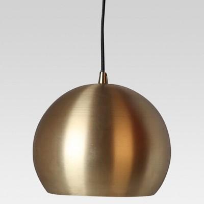 Modern Globe Pendant Ceiling Light Brass Lamp Only - Project 62™