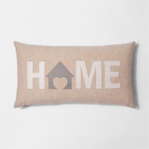 HOME Oversize Lumber Throw Pillow - Threshold™ - image 1 of 1