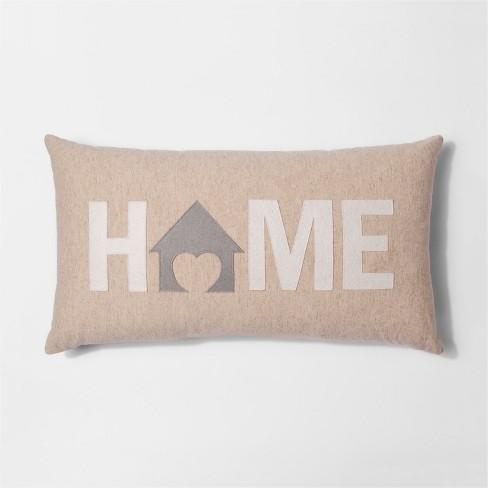 HOME Oversize Lumber Throw Pillow - Threshold™ - image 1 of 1
