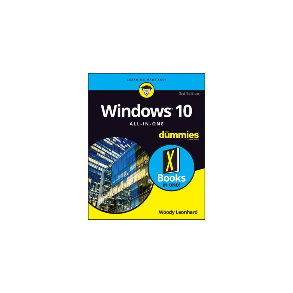 Windows 10 All-in-one for Dummies - 3 by Woody Leonhard (Paperback)