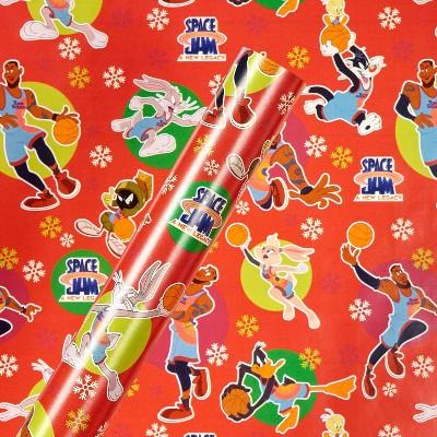 30in 40 sq ft Space Jam 2 Gift Wrap - American Greetings