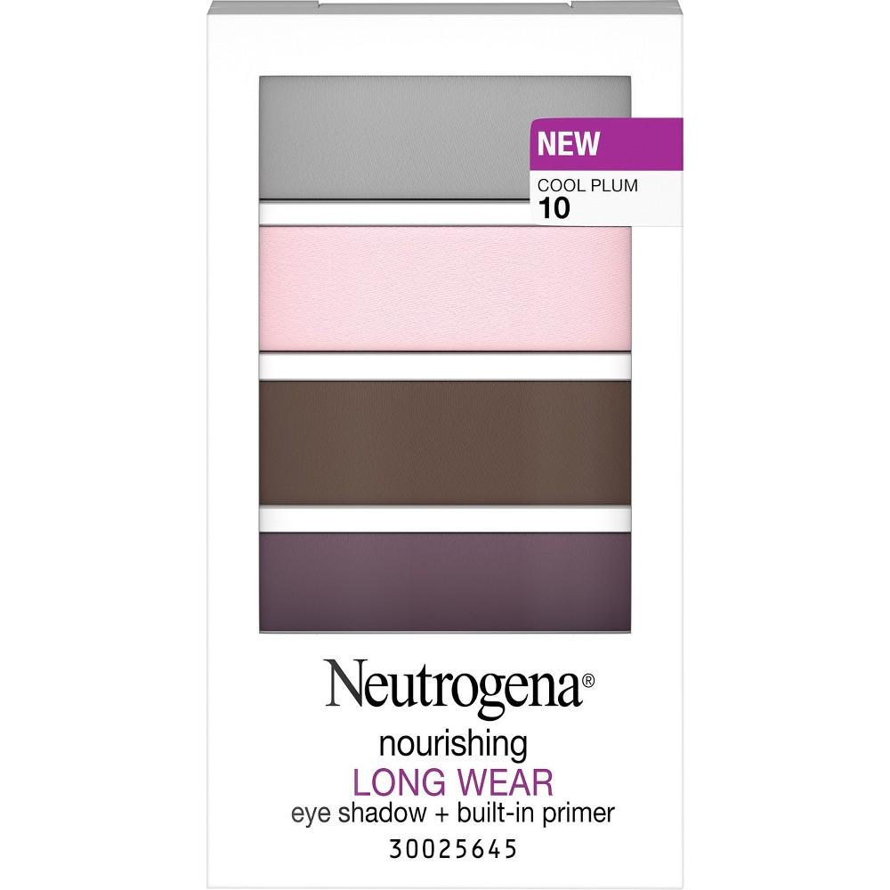 Neutrogena Nourishing Long Wear Eye Shadow - 10 Cool Plum
