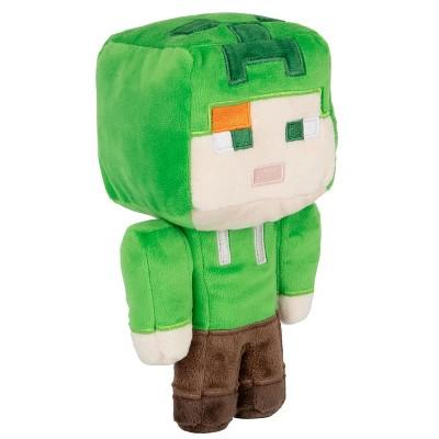 JINX Inc. Minecraft Happy Explorer Series 7 Inch Plush | Alex in Creeper Costume