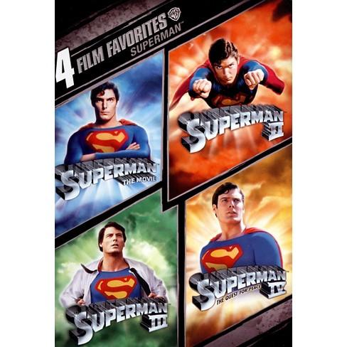 Superman: 4 Film Favorites [WS] [2 Discs] - image 1 of 1