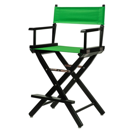 Green Counter Height Director's Chair