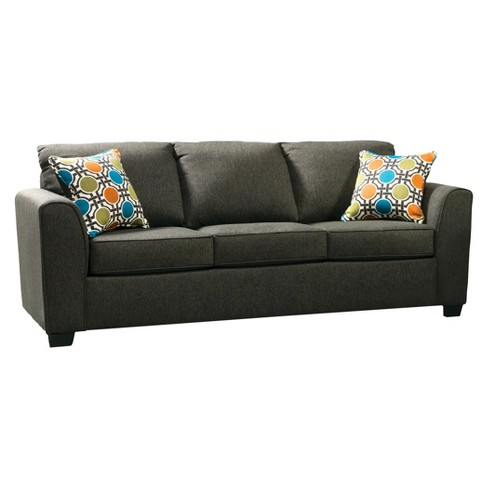 ioHomes Leanna Contemporary Sofa in Gray - image 1 of 4