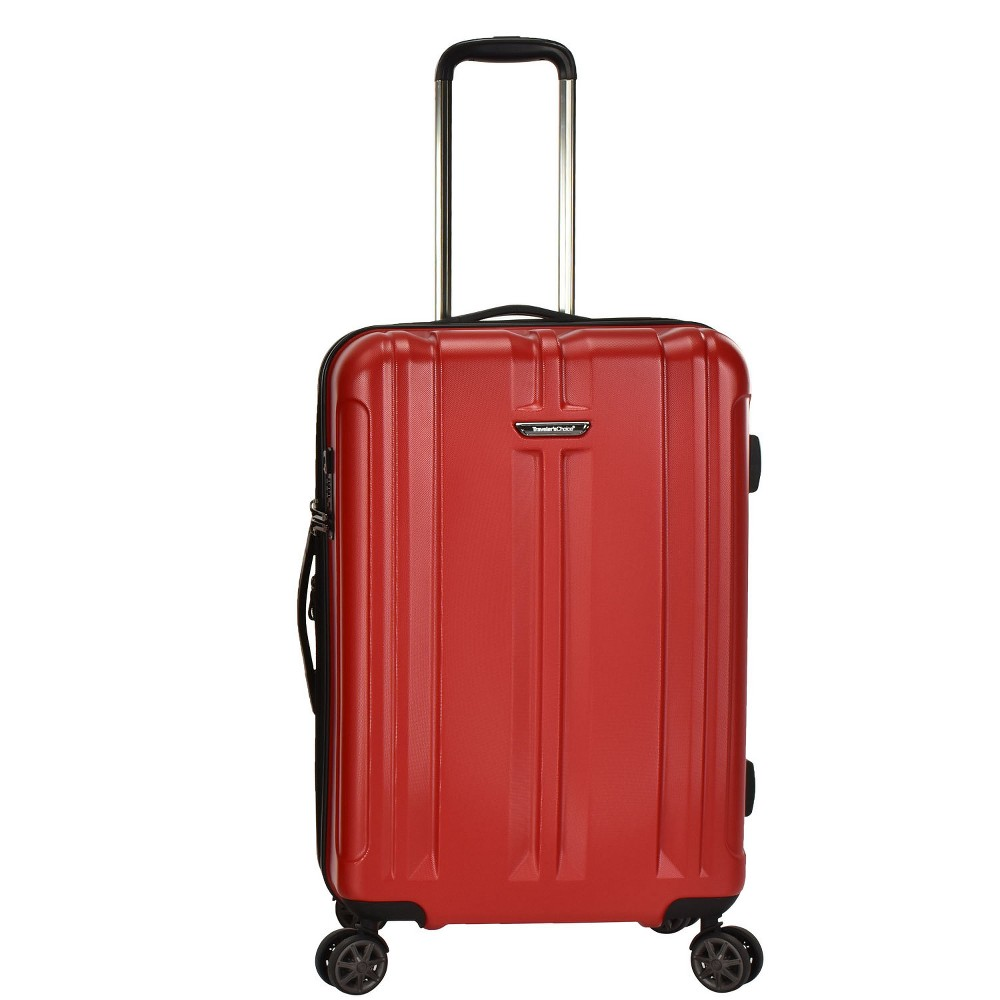 "Image of ""Traveler's Choice 26"""" La Serena Suitcase Set - Red"""