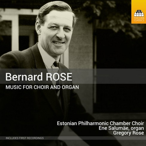 Estonian Philharmoni - Rose:Music For Choir & Organ (CD) - image 1 of 1