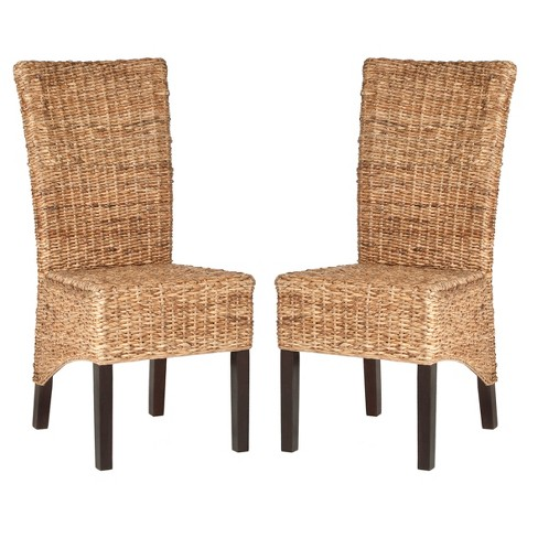 Samar Dining Chair Wood/Natural (Set of 2) - Safavieh® - image 1 of 5