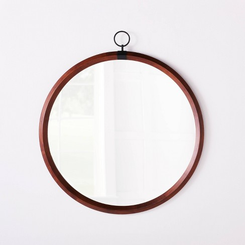 "29"" Round Mirror with Hook - Threshold™ designed with Studio McGee - image 1 of 4"