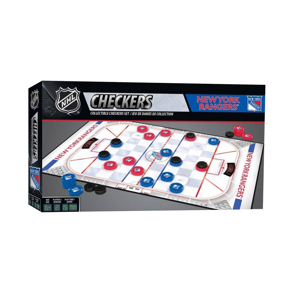 Nhl New York Rangers Checkers Game