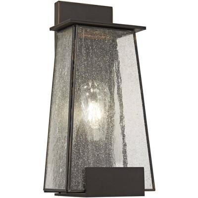 "Minka Lavery Bistro Dawn 14 1/4"" High Dakota Bronze Outdoor Wall Light"