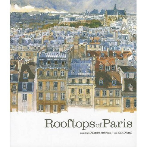 Rooftops of Paris - (Hardcover) - image 1 of 1
