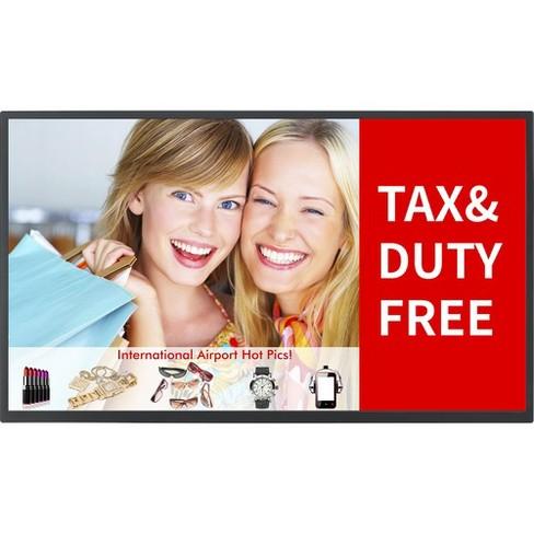 "Panasonic TH-32EF1U Digital Signage Display - 32"" LCD - 1920 x 1080 - Edge LED - 350 Nit - 1080p - HDMI - USB - DVI - SerialEthernet - image 1 of 2"