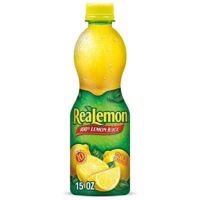 ReaLemon 100% Lemon Juice - 15 fl oz Bottle