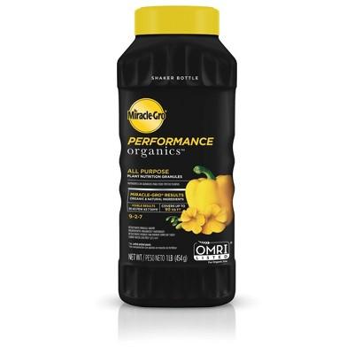 Miracle-Gro Performance Organics Granular Plant Food - 1lb