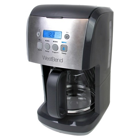 West Bend 12 Cup Steep & Brew Coffee Maker - image 1 of 5