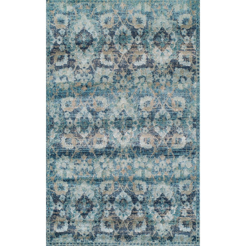 "Image of ""3'3""""X5'3"""" Navy Solid Woven Accent Rug - Addison Rugs, Blue"""