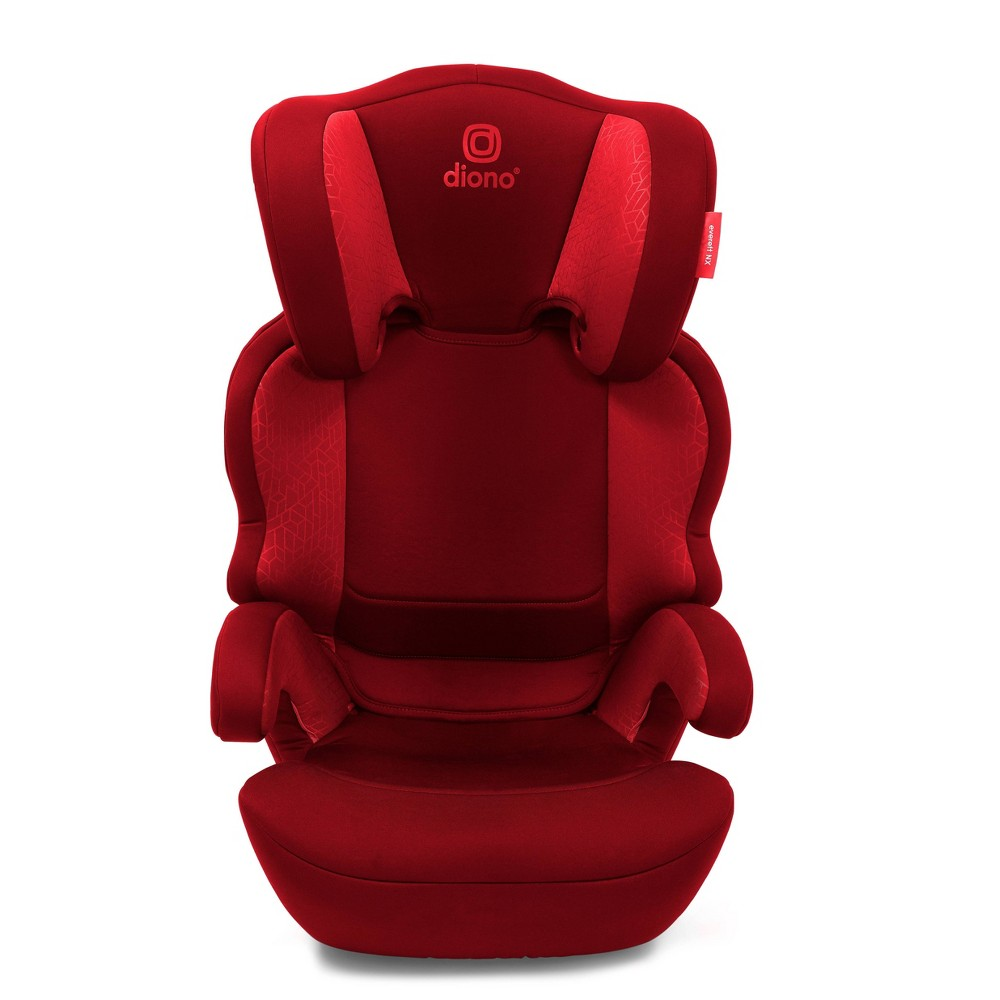 Image of Diono Everett NXT Latch Booster Car Seat - Red