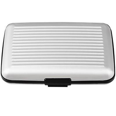 Zodaca Silver  Business Aluminum ID Credit Card Wallet Case Holder Metal Box Pocket